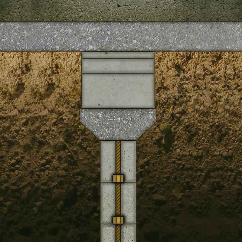 permalock system home leveling foundation slab