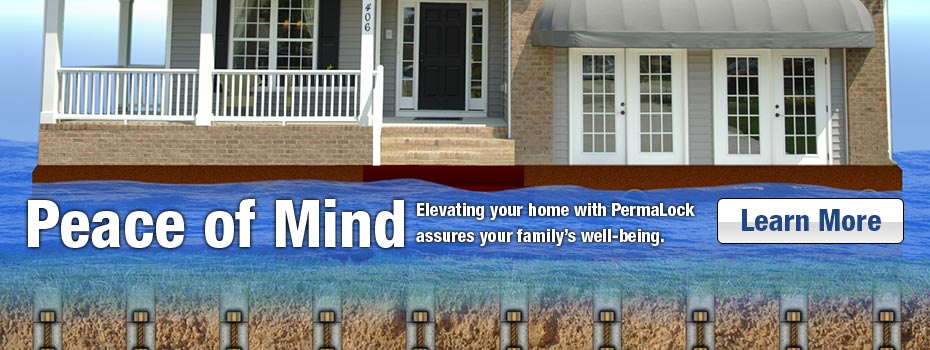peace of mind banner for home leveling
