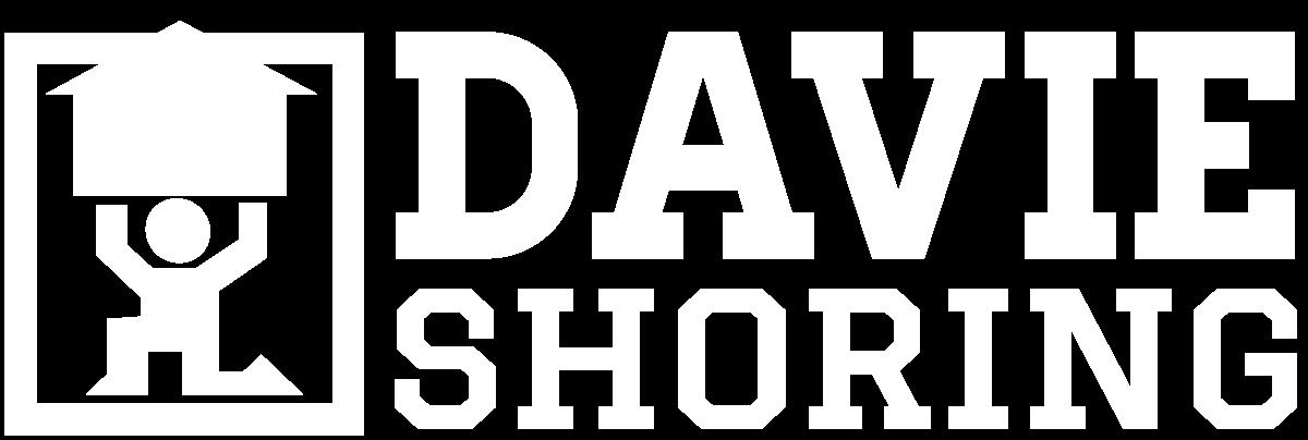 Davie Shoring Logo White