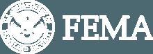 White Fema Logo