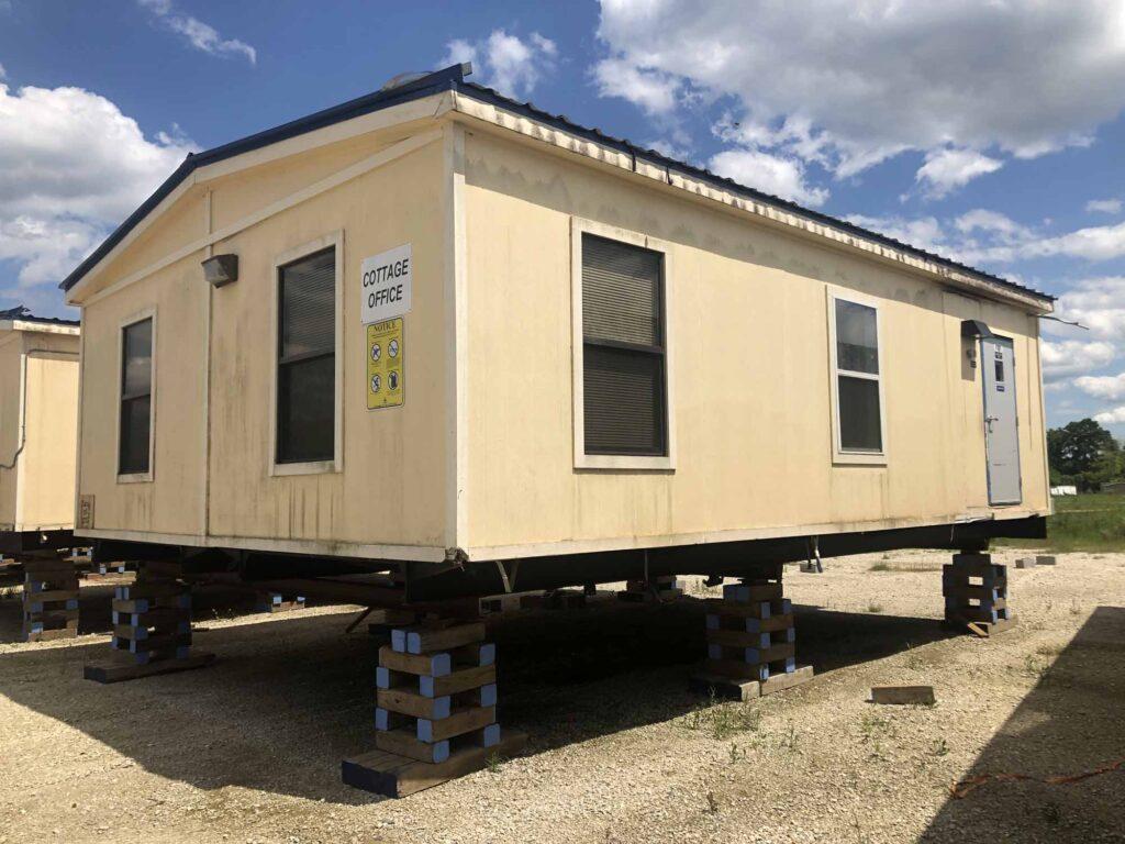 Modular Building - 24'x32′ Office – Admin Building-Side